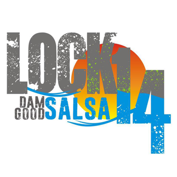 logo for Lock 14 that says Dam Good Salsa