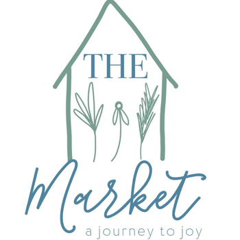logo for THE Market that says A Journey to Joy